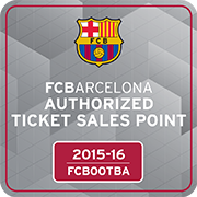 authorised FC Barcelona ticket agent for the 2015-2016 season